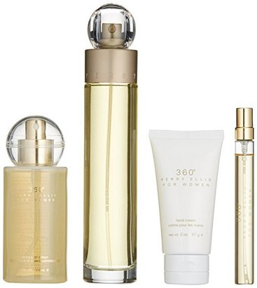 360° perry ellis 4-piece gift set for women
