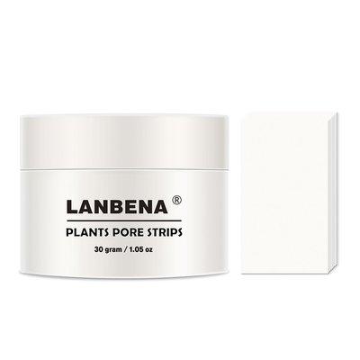 lanbena plants pore strips blackhead remover mask 30g (1.05 ounce) facial pore cleanser mask