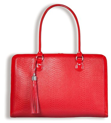 my best friend is a bag lindsay 17 inch laptop shoulder bag for women big and beautiful briefcase in red color