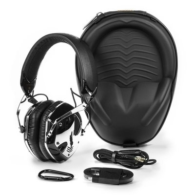 v-moda crossfade bluetooth wireless over-ear personalized headphones includes exoskeleton carry case