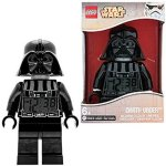 lego star wars darth vader alarm clock with digital lcd display and red back light perfect gift for star wars fans