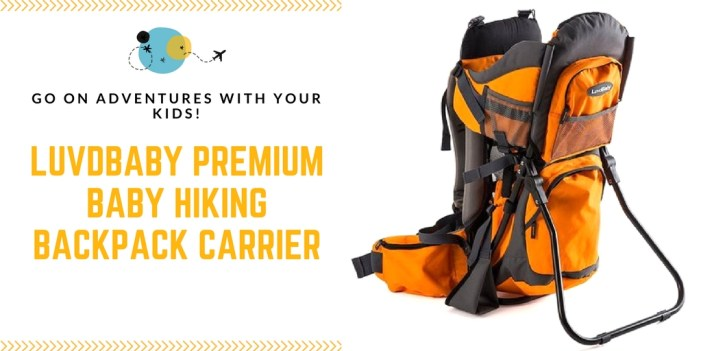 Luvdbaby Premium Baby Hiking Backpack Carrier