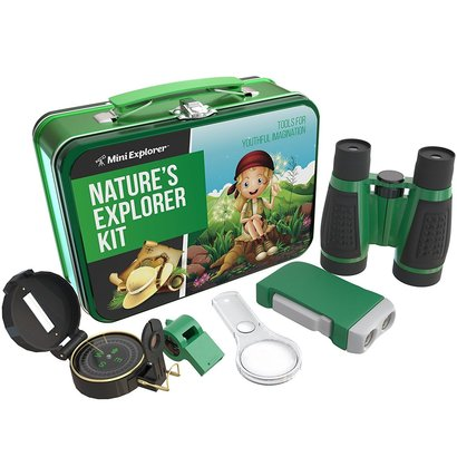 mini explorer nature's explorer kit 5-in-1 junior explorer kit with 5 gadgets and gizmos great gift idea for kids