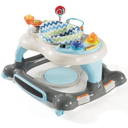 storkcraft 3-in-1 activity walker and rocker with jumping board and 360-degree swivel seat