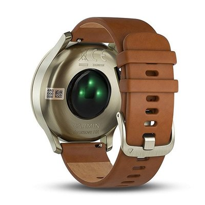 garmin vívomove hr stylish hybrid smartwatch with a discreet display and precision watch hands