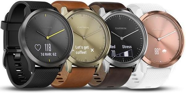 garmin vívomove hr stylish hybrid smartwatch