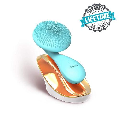 Caytraill Facial Cleansing Brush with Magnetic Beads and Sonic Vibration