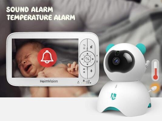 HeimVision HM136 Video Baby Monitor 2x Digital Zoom