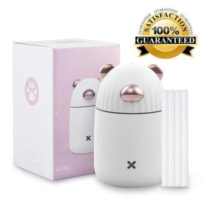 Lauzq 350 ml Portable Mini USB Humidifier with Cotton Core