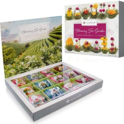Tea Lovers Gift Set Flowering Tea Collection from Teabloom