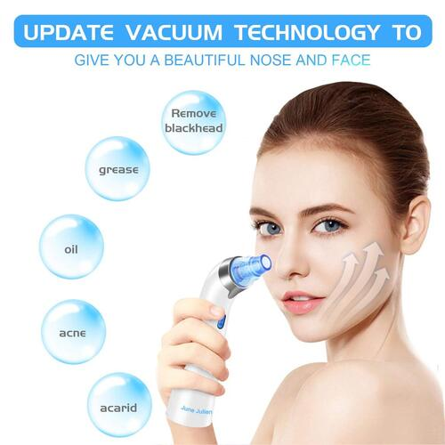 June Julien blackhead remover device with LED display