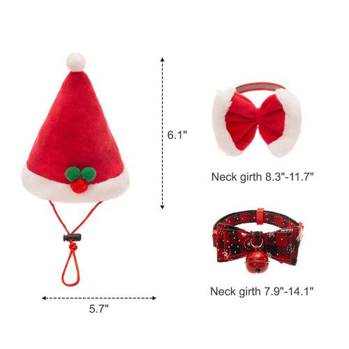 PUPTECK 9 pieces Christmas Cat Toys Gift Set