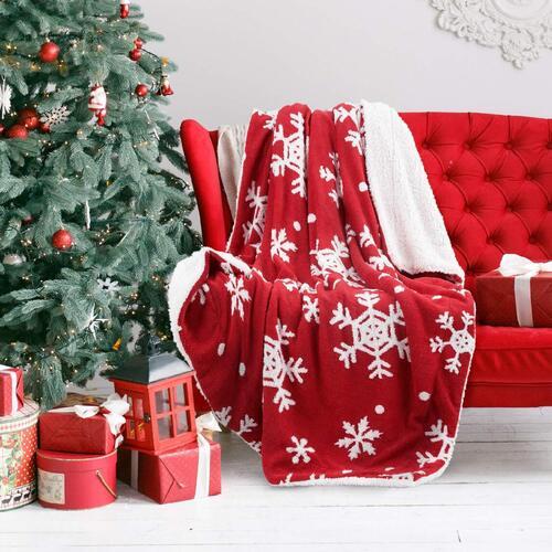 great Christmas decor bedsure blanket