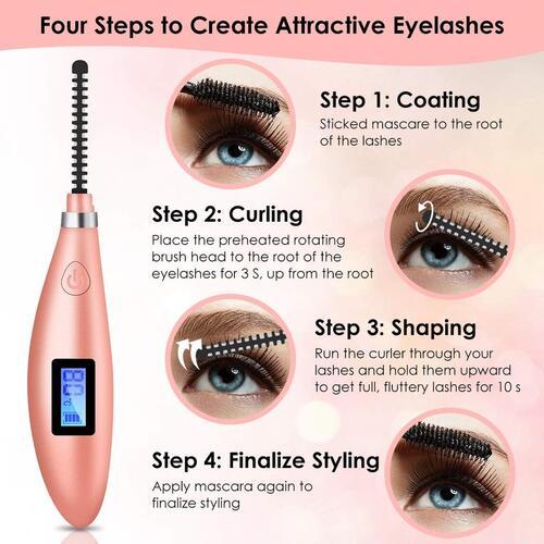 Hizek Electric Heated Eyelash Curler