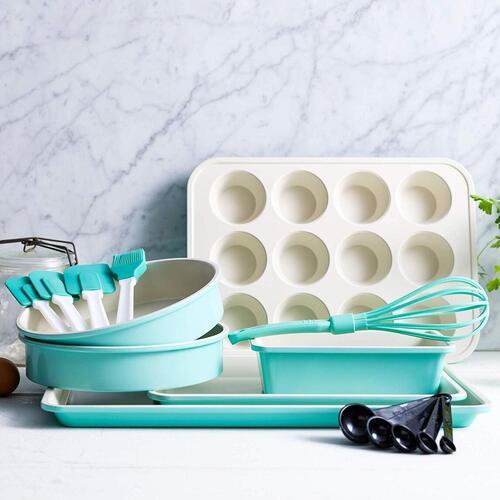 GreenLife High-heat Resistant 12 piece Healthy Ceramic Nonstick Baking Set