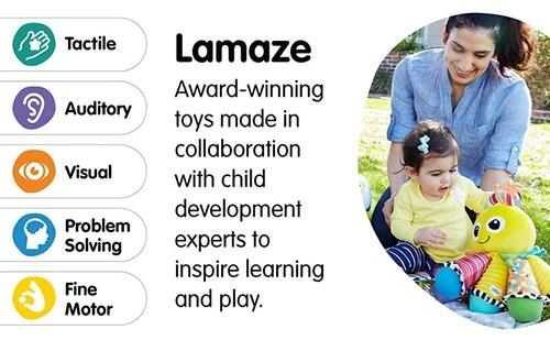 LAMAZE Octotunes Octopus Award-winning Colorful Stuffed Cuddly Baby Toy