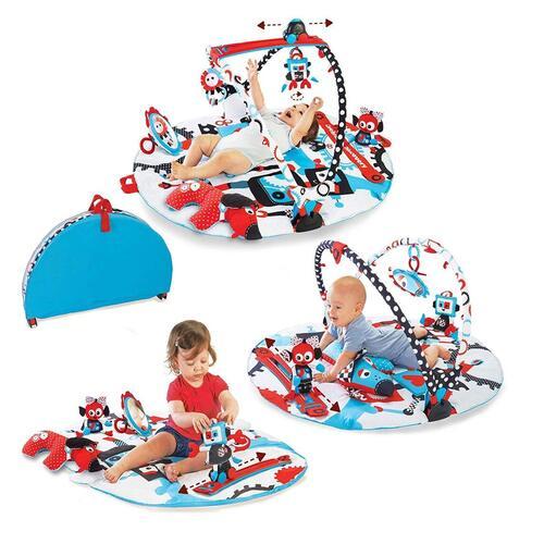 Yookidoo Gymotion Robo Playland Foldable Baby Gym Activity Playmat
