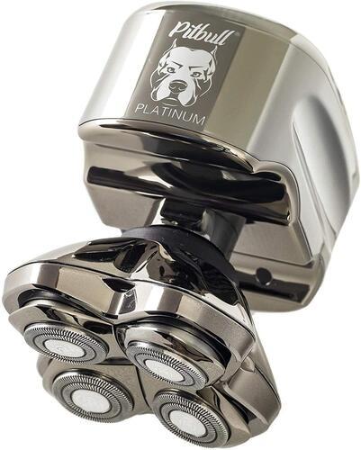 Skull Shaver Waterproof Pitbull Platinum PRO Men's Electric Shaver