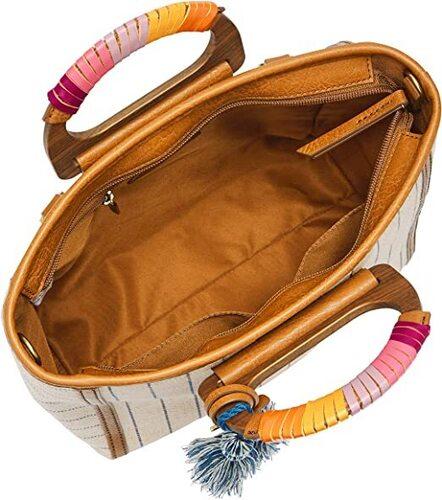 Fossil Camilla Leather Backpack Handbag Women
