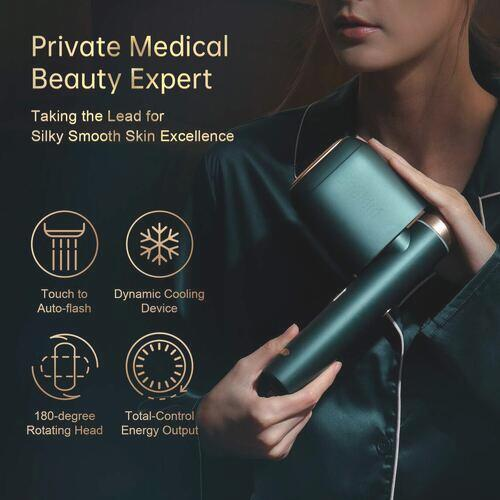 BoSidin Permanent Hair Removal Device with 6 Intensity Levels