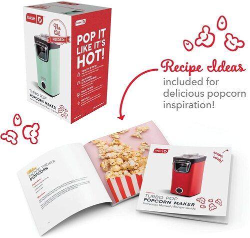DASH Turbo No Oil Pop Popcorn Maker