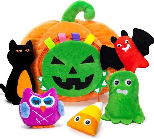 TEYTOY 6 pcs My First Halloween Pumpkin Baby Toys