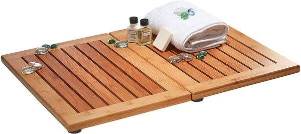 Luxury Bamboo Bath Mat