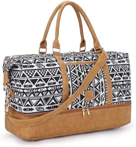 Plambag Two-way Zipper Weekend Travel Bag
