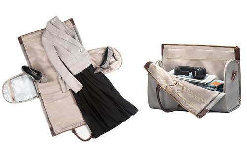 Travel inspira zipper garment bag