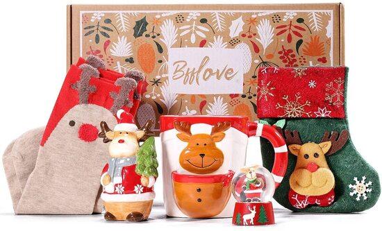 BFFLOVE 5pcs Christmas Ornaments Gift Set