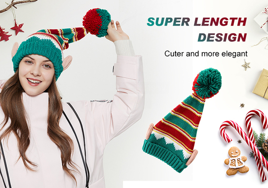 LMLALML Acrylic Holiaday Winter Cap Christmas Gift for Kids, Woman's and Men's