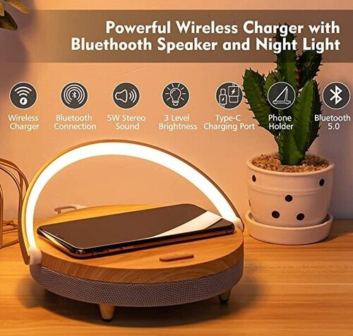 JACKYLED night light Bluetooth speaker