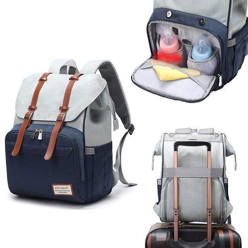 Pofunuo Diaper Bag Backpack for New Moms