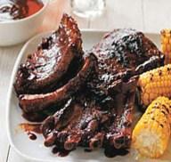 Blackjack Barbecued Ribs