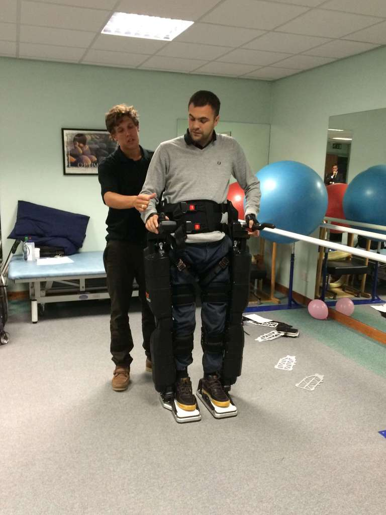 REX demo at Tops Fitness and Rehabilitation Wakefield