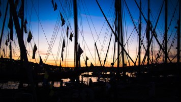 Sunset at Falmouth Classics