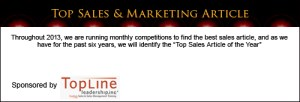 Top Sales & Marketing Awards Article