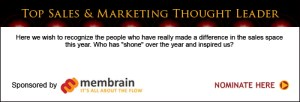 Top Sales & Marketing Thought Leader