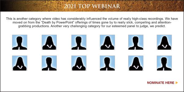 Nominate Top Sales & Marketing Webinar 2021