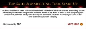 Top Sales & Marketing Awards 2013 Tool Start-Up