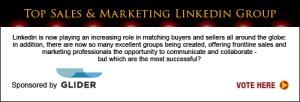 Top Sales & Marketing Awards LinkedIn Group 2013