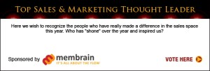 Top Sales & Marketing Thought Leader 2013