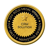 Gold CRM Solution 2014 Top Sales & Marketing Awards