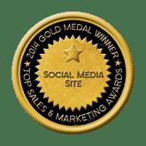 Gold Social Media Site 2014 Top Sales & Marketing Awards