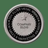 Silver Medal - Company Blog 2014 Top Sales & Marketing Awards