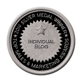 Silver Medal - Blog 2014 Top Sales & Marketing Awards