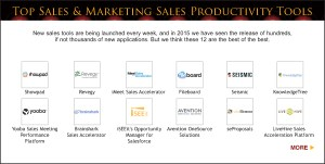 Top Sales & Marketing Awards 2015 Sales productivity Tool