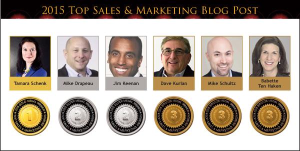 2015 Blog Post medals