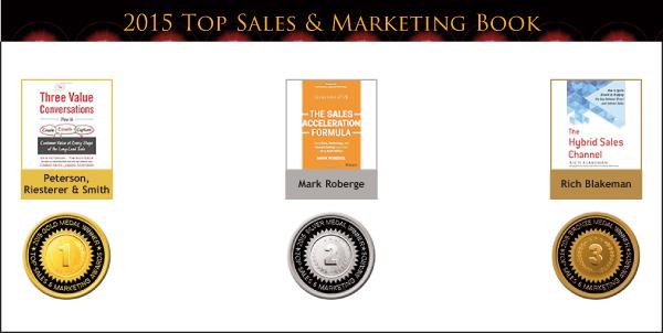 2015 Top Sales & Marketing Book Medals