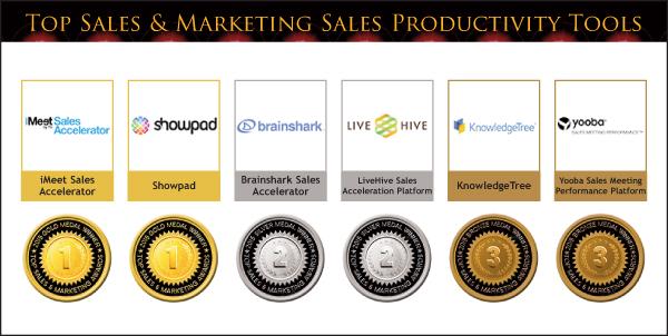 2015 Top Sales & Marketing Sales Productivity Tool Medals